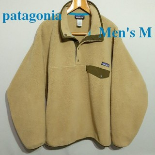 patagonia - 美品 希少 メンズM パタゴニア シンチラ フリース スナップT タン ベージュ