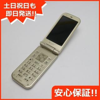 シャープ(SHARP)の超美品 判定○ 202SH PANTONE ゴールド(携帯電話本体)