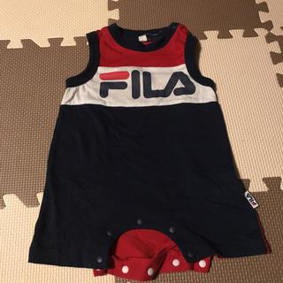 フィラ(FILA)の中古☆FILAロンパース  70(ロンパース)