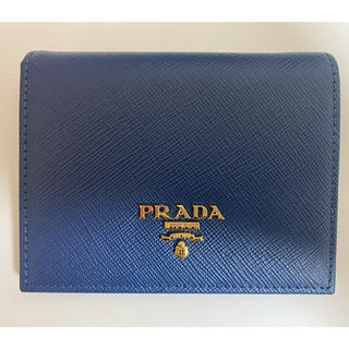 PRADA - 専用 PRADA プラダ 二つ折り財布 ネイビー