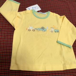familiar - 新品未使用 ファミリア familiar 長袖Tシャツ 80cm