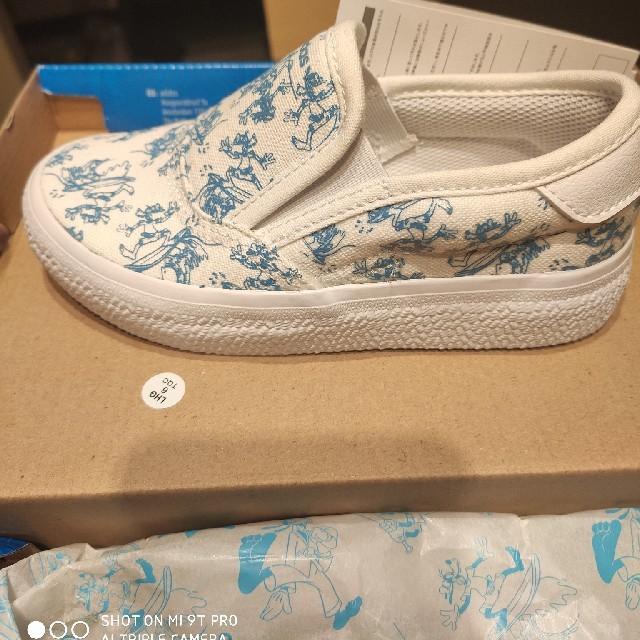 adidas(アディダス)のadidas キッズ スリップオン キッズ/ベビー/マタニティのキッズ靴/シューズ(15cm~)(スリッポン)の商品写真