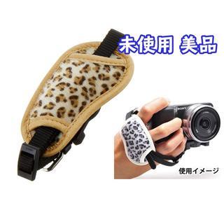 ケンコー(Kenko)の一眼レフ*ミラーレス*ビデオカメラ用*カメラグリップ*豹柄 (ケース/バッグ)