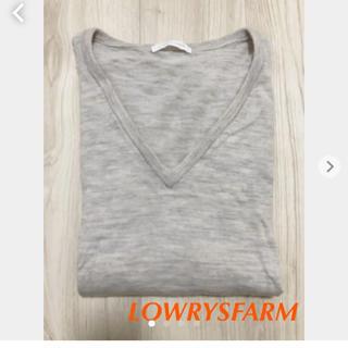 ローリーズファーム(LOWRYS FARM)のLOWRYSFARM 薄手ニット L(ニット/セーター)
