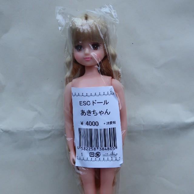 あきちゃん-1 おたのしみドール ESCドール リカちゃんキャッスル キッズ/ベビー/マタニティのおもちゃ(ぬいぐるみ/人形)の商品写真