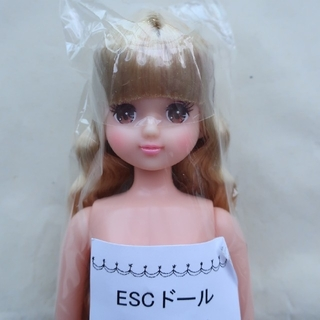 あきちゃん-1 おたのしみドール ESCドール リカちゃんキャッスル(ぬいぐるみ/人形)