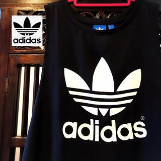 adidas - アディダス オリジナルス レア シースルー タンクトップ ジャージ Tシャツ