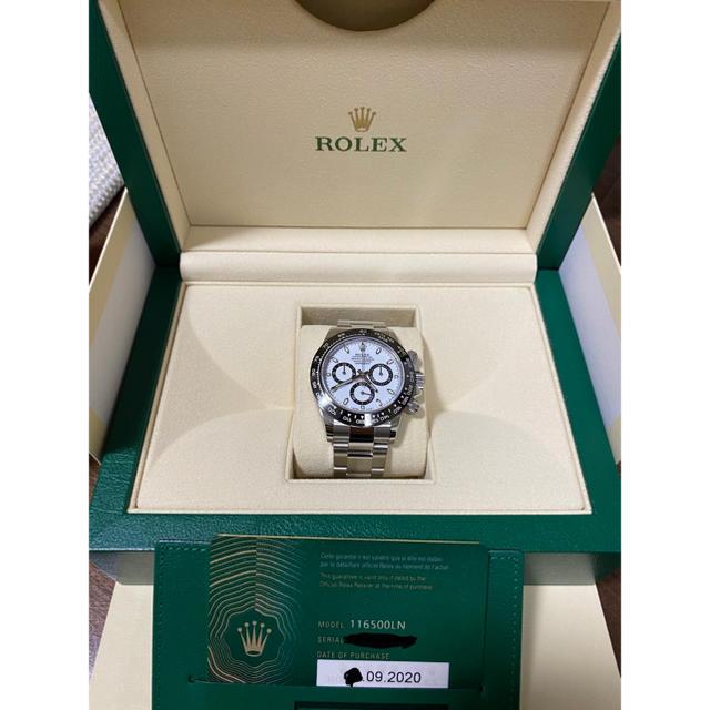 ROLEX(ロレックス)の【2020年9月購入】ロレックスROLEX 116500LN 新品、未使用品1 メンズの時計(腕時計(アナログ))の商品写真