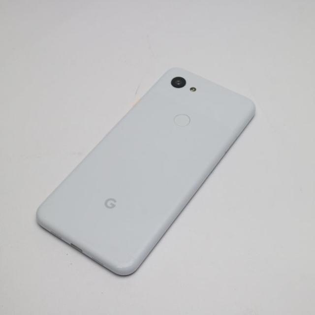 ANDROID(アンドロイド)の美品 SoftBank Google Pixel 3a G020H ホワイト  スマホ/家電/カメラのスマートフォン/携帯電話(スマートフォン本体)の商品写真