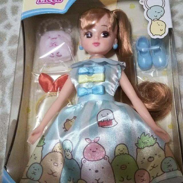 リカちゃん 人形 本体 服 すみっコぐらしだいすきリカちゃん キッズ/ベビー/マタニティのおもちゃ(ぬいぐるみ/人形)の商品写真
