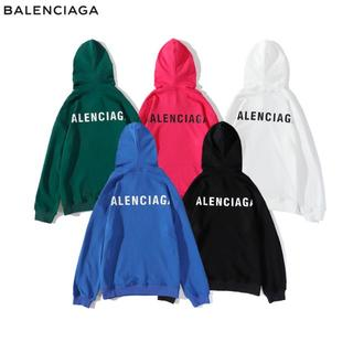 バレンシアガ(Balenciaga)の#09 「2枚14000円送料込み」Balenciaga 男女兼用パーカ 5色入(パーカー)