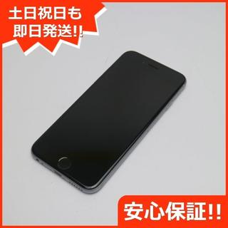アップル(Apple)の美品 SOFTBANK iPhone6 64GB スペースグレイ (スマートフォン本体)