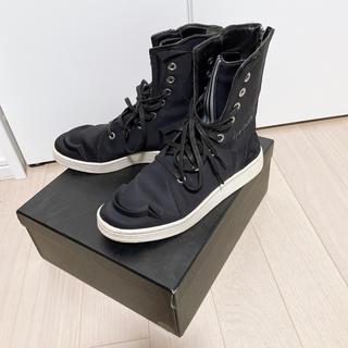 ヨウジヤマモト(Yohji Yamamoto)のYohji Yamamoto × adidas ネオプレンボクシングブーツ(スニーカー)