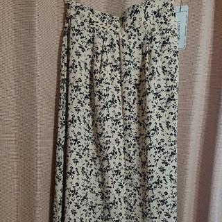 しまむら - 花柄ロングスカート