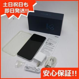 エイスース(ASUS)の美品 ZenFone 5 ZE620KL ホワイト (スマートフォン本体)