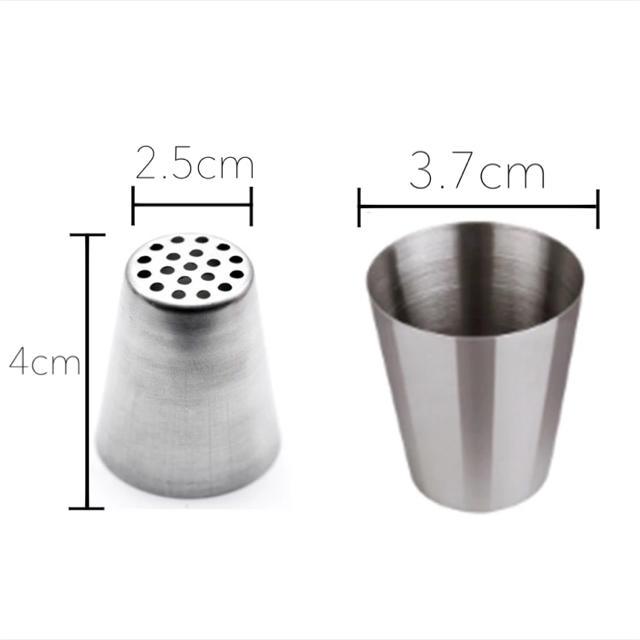 モンブラン口金♡Lサイズ インテリア/住まい/日用品のキッチン/食器(調理道具/製菓道具)の商品写真