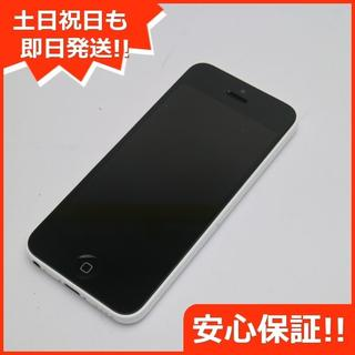 アップル(Apple)の美品 判定○ iPhone5c 16GB ホワイト (スマートフォン本体)
