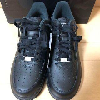 Nike × Supreme Air Force 1 Low black(スニーカー)