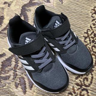 adidas - 中古 美品 adidas スニーカー 17センチ