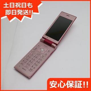 キョウセラ(京セラ)の良品中古 Y!mobile 502KC  ピンク 本体 白ロム (携帯電話本体)