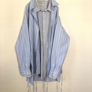 Jieda - トワロニエ  レイヤードシャツ オーバーサイズ