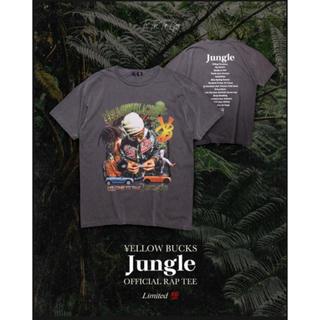 """¥ELLOW BUCKS """"Jungle"""" Official Rap Tee"""