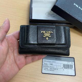 PRADA - プラダ キーケース 黒