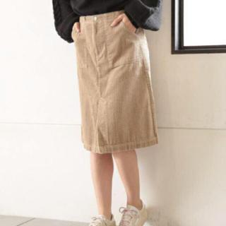 カスタネ(Kastane)のkastane 太コーデュロイスカート(ひざ丈スカート)