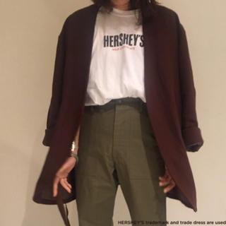 ユナイテッドアローズ(UNITED ARROWS)のHERSHEY'S  ハーシーズ 6 ROKU コラボTシャツ Mサイズ(Tシャツ(半袖/袖なし))