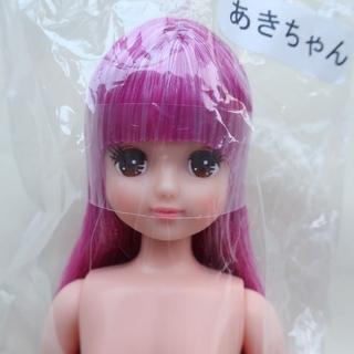 あきちゃん-3 おたのしみドール ESCドール リカちゃんキャッスル(ぬいぐるみ/人形)