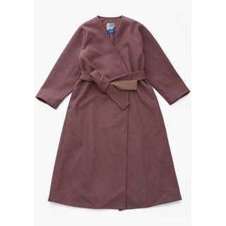 ロキエ(Lochie)のMARTE Color Belt Gown Coat Smoky Purple(ロングコート)