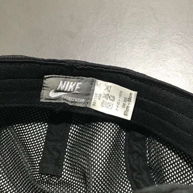 NIKE(ナイキ)の'90s〜'00s シルバータグ NIKE casquette メンズの帽子(キャップ)の商品写真