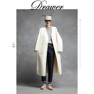 Drawer - 新品 drawer ドゥロワー コート 36
