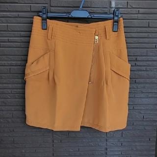 カリテ(qualite)の【カリテ】ジップデザインスカート(ミニスカート)