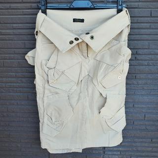 バラク(Barak)の【バラク】2wayダメージ風スカート(ひざ丈スカート)