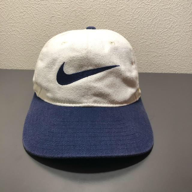 NIKE(ナイキ)の'90s NIKE 白タグ MICHIGAN キャップ メンズの帽子(キャップ)の商品写真