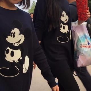 ディズニー(Disney)の香港ディズニーランド ミッキー ニット(ニット/セーター)