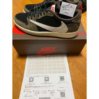 ナイキ(NIKE)のnike air jordan 1 low og sp travis scott(スニーカー)