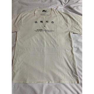 ラフシモンズ(RAF SIMONS)のraf simons ハングルtシャツ(Tシャツ/カットソー(半袖/袖なし))