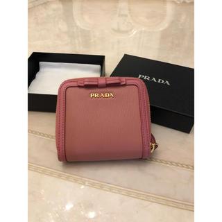 PRADA - PRADA リボン ピンク 財布