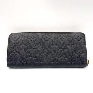 ルイヴィトン(LOUIS VUITTON)のルイヴィトン アンプラント 長財布 ラウンドファスナー 黒(財布)