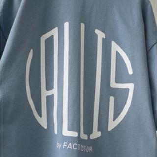VALLIS by FACTOTUM  クルーネックTシャツ(Tシャツ/カットソー(半袖/袖なし))