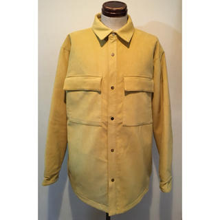 【美品】FEAR OF GOD Suede Shirt Jacket