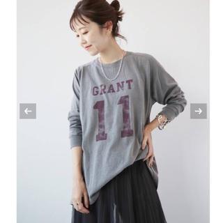Plage - 【新品タグ付】Plage GRANT Long Tシャツ グレー