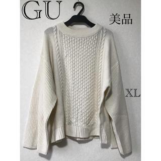 GU - ⭐︎美品⭐︎GU ジーユー トップス ニット sizeXL