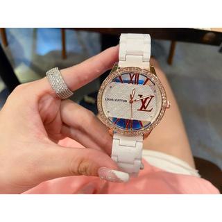 LOUIS VUITTON - 美品  ダイヤ 腕時計 35mm