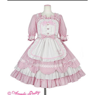 Angelic Pretty - angelic pretty Heart Cafe ワンピースセット ロリィタ