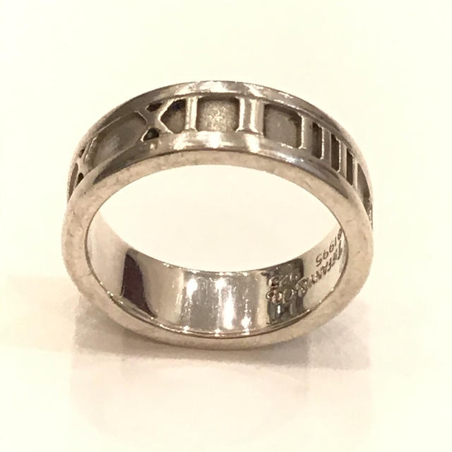 Tiffany & Co.(ティファニー)の8278 TIFFANY ティファニー アトラスリング  1995 SV10号 レディースのアクセサリー(リング(指輪))の商品写真