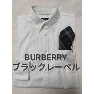 バーバリーブラックレーベル(BURBERRY BLACK LABEL)のバーバリー ブラックレーベル Yシャツ(Tシャツ/カットソー(七分/長袖))