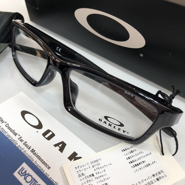 Oakley(オークリー)のオークリー クロスリンク 8111-0153 メガネ 眼鏡 新品 OAKLEY メンズのファッション小物(サングラス/メガネ)の商品写真